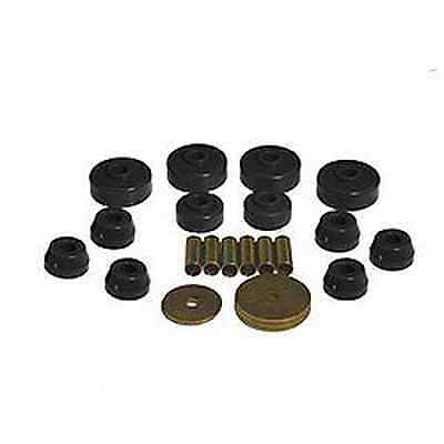 Prothane Body / Frame Mount Bushing Kit FOR Toyota Pickup 4WD 79-88 (Black) Pickup Body Mount Kit
