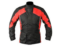 AKITO PYTHON JACKET - AVAILABLE IN RED/BLACK - MANY SIZES AVAILABLE