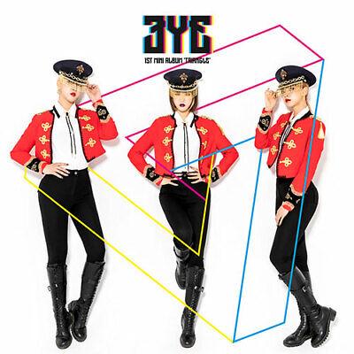 3YE [TRIANGLE] 1st Mini Album CD+40ea Photo+2ea Card+Sticker K-POP SEALED