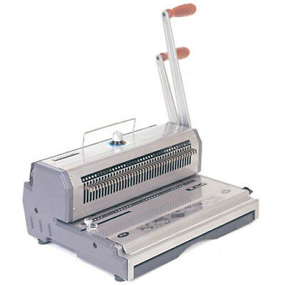 Manual Wire Binding Machine - Akiles WireMac 2:1 Manual Combo Double Loop Wire Binding Machine