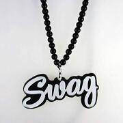 Swag Wood Necklace