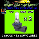 Halogen Clear Car & Truck Headlights HB3 (9005) Bulb