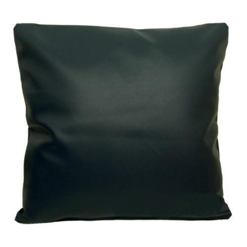 Black Leather Cushions Ebay
