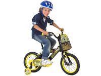 """Avigo 14"""" pedal pet t-rex bike"""