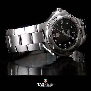 Genuine TAG HEUER KIRIUM CHRONOMETER Calibre 7 Black Dial B+P Sydney Region Preview