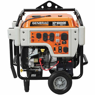Generac Xp10000e - 10000 Watt Electric Start Professional Portable Generator