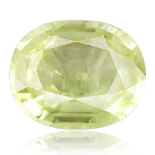Tsavorite Family Garnet 4.87ct yellowish green color 100% natural earth mined