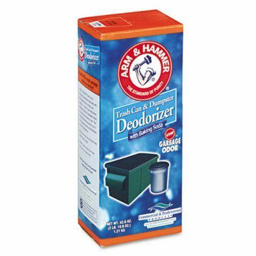 Arm & Hammer Trash Can & Dumpster Deodorizer, Unscented, 42.6 oz (CDC3320084116)