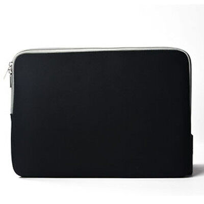 BLACK Zipper Sleeve Bag Case Cover for All Laptop 13