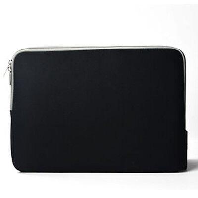 "BLACK Zipper Sleeve Bag Case Cover for All Laptop 13"""