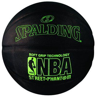 Spalding 71024 Nba Street Phantom Outdoor Basketball  Neon Green Black New