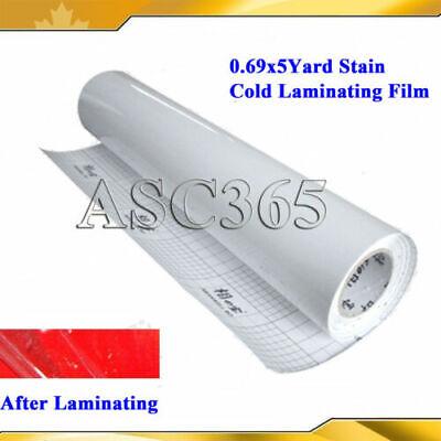 Satin Cold Laminating Film 196x25uv Satin Vinyl Laminator
