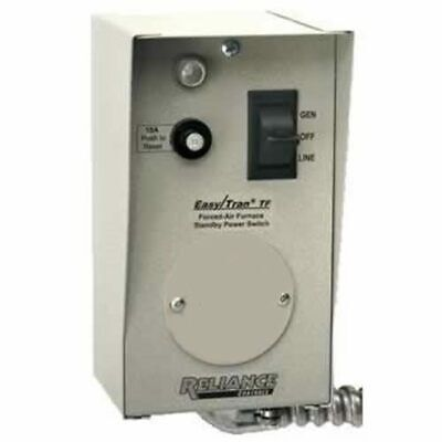 Reliance Controls 20-amp 120v 1-circuit Furnace Transfer Switch