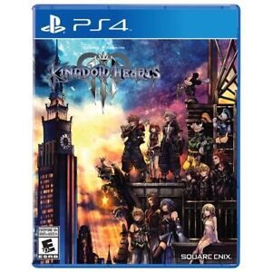 Sealed PS4 Kingdom Hearts 3
