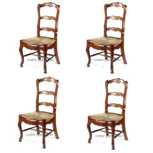 French Ladder Back Chairs eBay : 3 from www.ebay.com size 500 x 500 jpeg 25kB