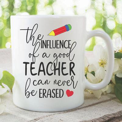 Teacher Coffee Mugs Teachers Leaving Gift Present School Teacher Cups WSDMUG1007](Teacher Coffee Mugs)