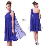 Blue Plus Size Bridesmaid Dress