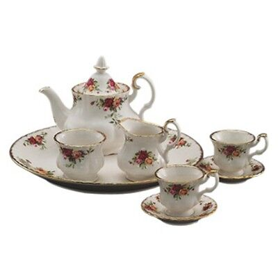 Royal Albert Old Country Roses Le Petite 9-Piece Miniature Tea Set