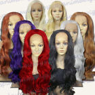Lace Front Curly Wigs & Hairpieces Purple