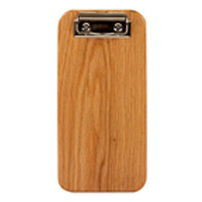 Risch Country Check Presenter W Clip Solid Wood Oak