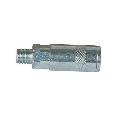 "Silverline Air Line Quick Coupler 2pk 6mm (1/4"") BSP Air Tools Air Fittings 70mm"