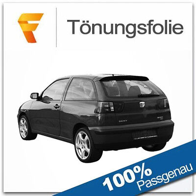 2008 Passgenaue Tönungsfolie Seat Ibiza 6J 3-Türer Bj Phantom 75