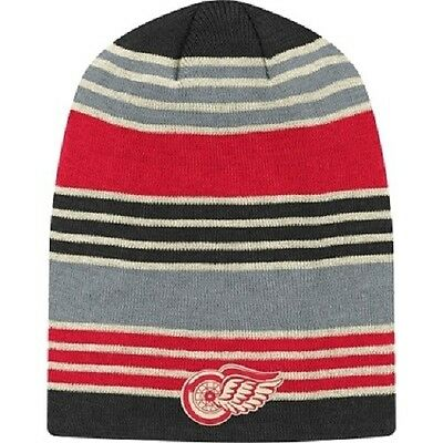 Detroit Red Wings 2014 Winter Classic Knit Beanie Toque Hat Cap   New Long Tall