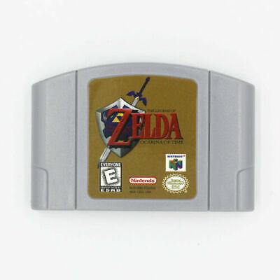 The Legend of Zelda Ocarina of Time for Nintendo N64 Video Game US Version
