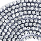 Hematite Round Faceted Loose Stone Beads