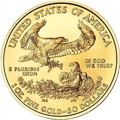 Купить 2017 1 oz American Gold Eagle Coin (BU)