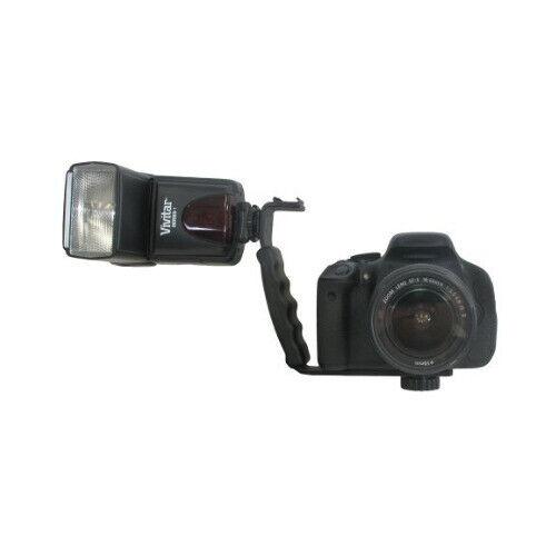 Vivitar SLR Flash/Video Bracket for DSLR Camera and Camcorder