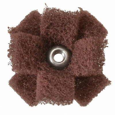 3m-standard Abrasive Buff Blend Cross Buff 1-12 3-ply Med Part Number 725001