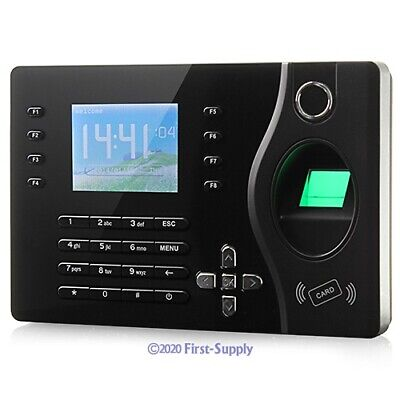 Biometric Fingerprint Attendance Time Clock With Rfid Card Reader Tcpip Usb