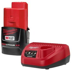 New Milwaukee M12 Charger and Battery