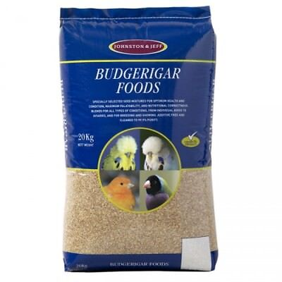 Johnston & Jeff Utility Budgieseed 10kg Budgie Seed Food Feed