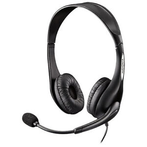 Insignia Headset Headphones With Flexible Boom Microphone - NEW