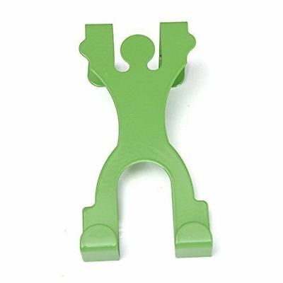 Cute Man Shape Stainless Steel Over Door Hook Cabinet Draw Clothes Holder Hanger