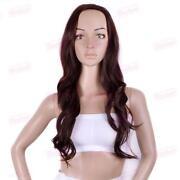 Long Dark Brown Curly Wig