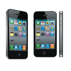 U Apple iPhone 4 - 16GB - Black (AT&T) Smartphone (MC318LL/A) (C)