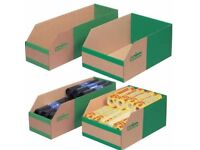 BULK CLEARANCE Kbins 2280 Pcs Cardboard Storage Boxes - 3 different sizes