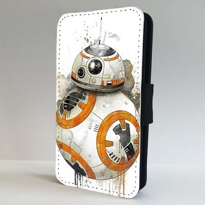 BB-8 Star Wars Painted Art Incredible FLIP PHONE CASE COVER for IPHONE SAMSUNG