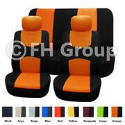 Orange Seat Covers