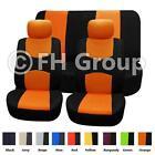 Orange Seat Covers