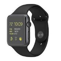 Juin - Apple Watch Sport 42mm Space Gray Aluminum - Black Sport