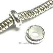 Sterling Silver Stopper Beads
