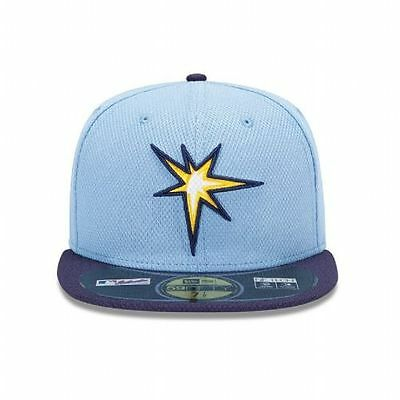 New Era 5950 TAMPA BAY RAYS ALT MLB Diamond Era Cap Batting Practice Fitted Hat