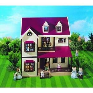 sylvanian families houses with furniture - Sylvanian Families Living Room Set