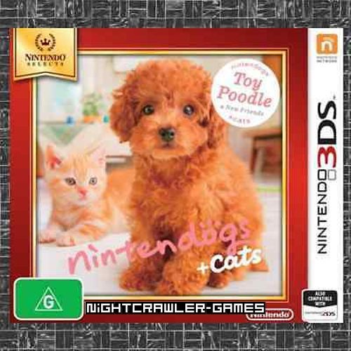 Nintendogs + Cats: Toy Poodle & New Friends - Selects (3DS)#AUS-Brand New#