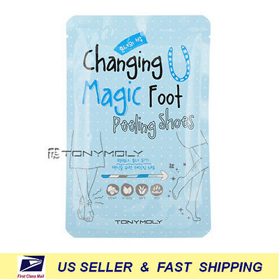 Tony Moly   Changing U Magic Foot Peeling Shoes  New Fresh