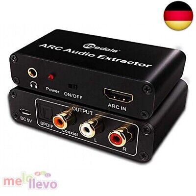 HDMI Audio Konverter Adapter, Digital HDMI ARC zu SPDIF / Koaxial / Optical + Hdmi Digital Audio